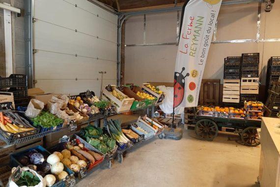 les produits frais en circuit court par un producteur local 68 Raedersheim
