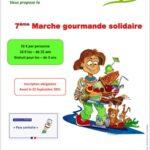 Gagnez deux places pour la 7ème Marche gourmande solidaire de